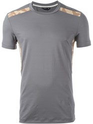 Adidas 'Porsche Design Sports' T Shirt Grey