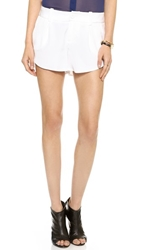 Alice Olivia Butterfly Shorts White