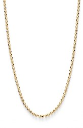 Argentovivo Women's Argento Vivo Ball Chain Necklace Gold