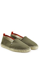 Orlebar Brown Fabric Espadrilles Green