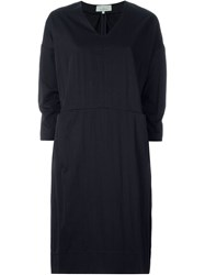 Studio Nicholson 'Strada' Dress Blue