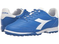 Diadora Brasil R Tf Royal White Matchwin Men's Soccer Shoes Blue