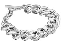 French Connection Medium Curb Chain Bracelet Silver Bracelet