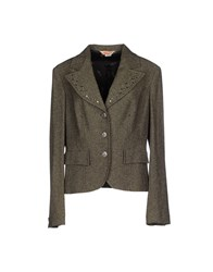 Ajay Suits And Jackets Blazers Women Khaki