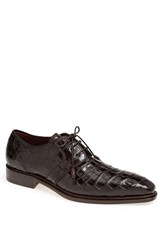 Men's Mezlan 'Marini' Alligator Leather Derby