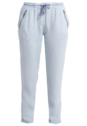 S.Oliver Trousers Blue Light Blue