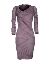 Gotha Dresses Knee Length Dresses Women Purple
