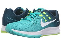 Nike Air Zoom Structure 19 Clear Jade White Mid Turquoise Hyper Turquoise Women's Running Shoes Blue