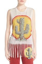 Women's Lauren Moshi 'Annora' Graphic Lounge Tank