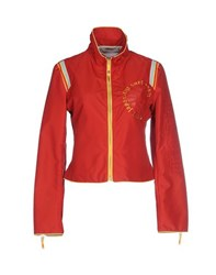 Kejo Coats And Jackets Jackets Women Red