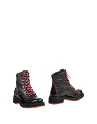 Barracuda Ankle Boots Dark Brown