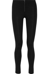 Alice Olivia Stretch Jersey Leggings Black