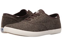 Keds Champion Tweed Brown Men's Lace Up Casual Shoes