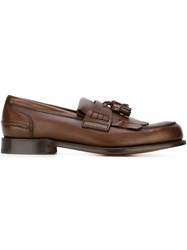 Church's Tassel Loafers Brown