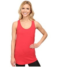 Fig Clothing Lau Top Rooibos Women's Sleeveless Red