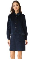 A.P.C. Agnes Dress Dark Navy