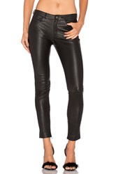 Mlml Leather Skinny Jean Black