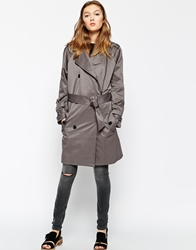 Gestuz Payton Trench Coat Grey
