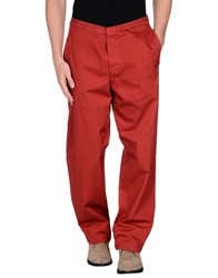 Stone Island Casual Pants Red