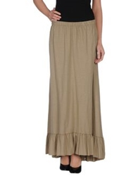 Tua Nua Long Skirts Khaki