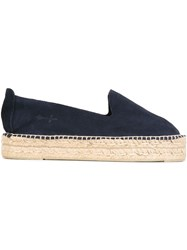 Manebi Manebi Double Sole Espadrilles Blue