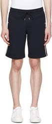 Moncler Navy And Tricolor Lounge Shorts