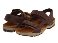 Naot Footwear Electric Bison Leather Men's Sandals Brown