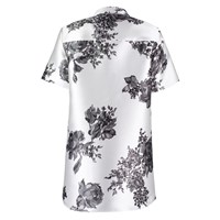 By Sun Floral Shirt Dress White