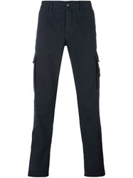 Stone Island Slim Fit Cargo Pants Blue
