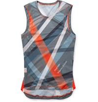 Chpt. 1.81 Printed Mesh Cycling Vest Gray
