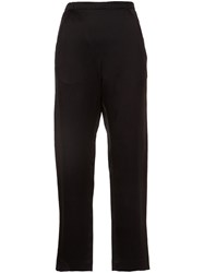 Zero Maria Cornejo Cropped Trousers Black