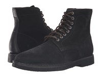 Frye Arden Lace Up Black Oiled Suede Men's Lace Up Boots