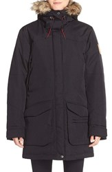Fjall Raven Women's Fj Llr Ven 'Kyla' Water Resistant Down Parka With Faux Fur Trim