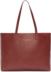Want Les Essentiels Brown And Metallic Reversible Straus Tote