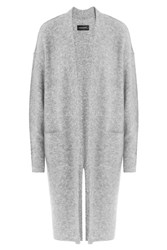 By Malene Birger Cardigan With Wool And Mohair Grey
