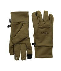 Outdoor Research Pl 400 Sensor Gloves Coyote Extreme Cold Weather Gloves Silver