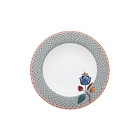 Pip Studio Fantasy Blue Soup Plate