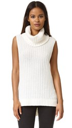 Ella Moss Kinley Sleeveless Sweater Natural