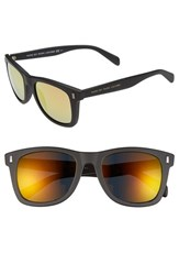 Men's Marc By Marc Jacobs 51Mm Sunglasses Matte Black Gold Lens