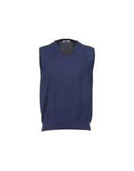 Valdoglio Sweater Vests Dark Blue