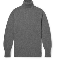 Tomas Maier Cashmere Rollneck Sweater Gray