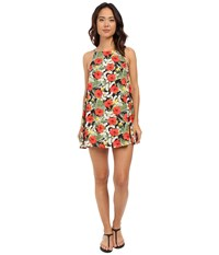 Vans Marie Dress Digi Aloha Black True White Women's Dress Multi