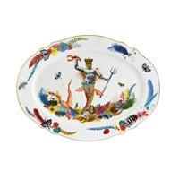 Christian Lacroix Caribe Oval Platter Medium