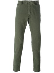Jacob Cohen 'Bobby' Slim Fit Chinos Green