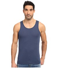 Alternative Apparel Cotton Modal Easy Tank Top Midnight Men's Sleeveless Navy