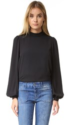 Rebecca Minkoff Rosamand Top Black