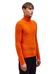 Raf Simons Sterling Ruby Mens Knitted Narrow Fit Roll Neck Sweater Ln Cc