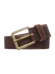 Replay Vintage Leather Belt Brown