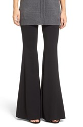 Leith Women's Stretch Knit Flare Pants
