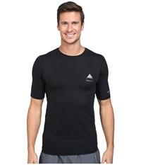 Burton Mb Lightweight Tech Tee True Black 1 Men's Short Sleeve Pullover